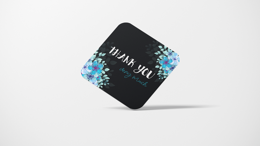 Thank you cards ready to be written