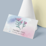 Thank you Visiting card