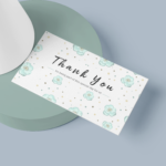 Thank you Visiting card
