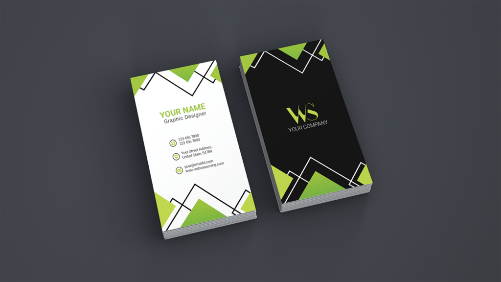 Business Agency Card Vertical