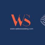 Business Visiting Card Blue/Orange