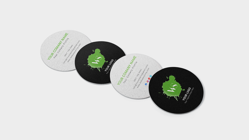 Round Business Card