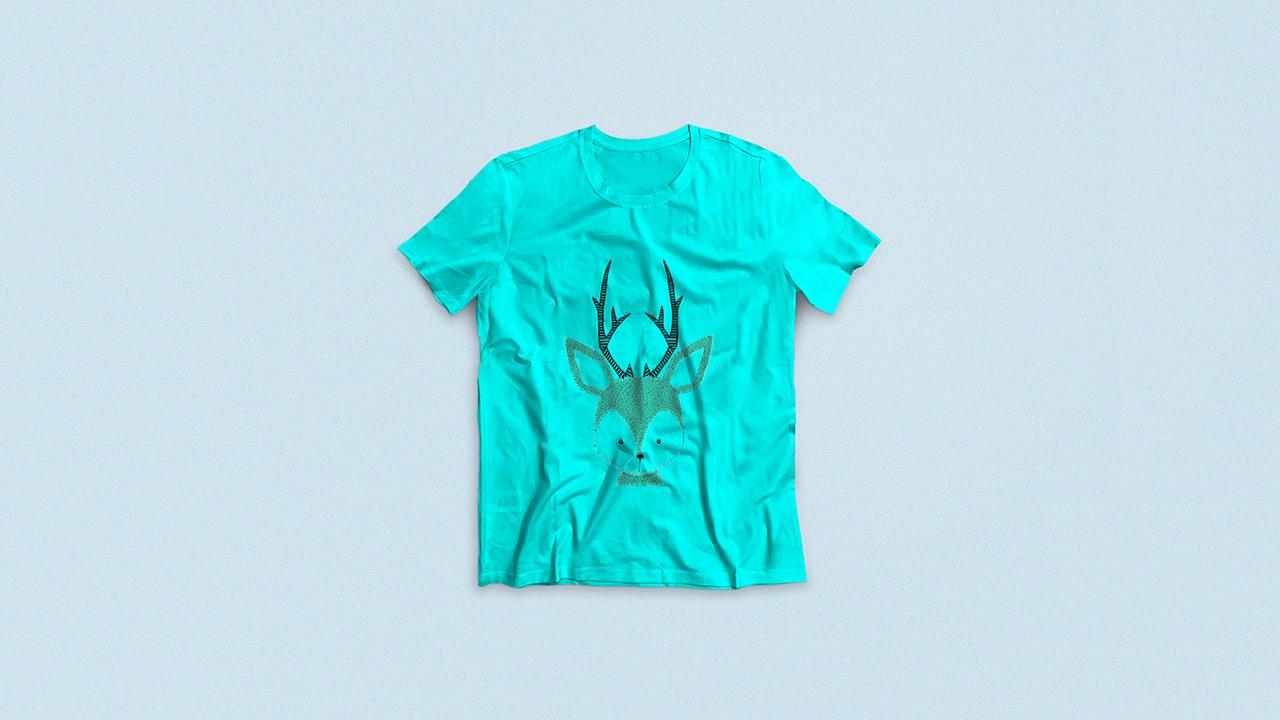 Light Colour T-Shirt mockup