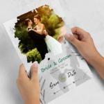 Wedding Invitation Card Flyer