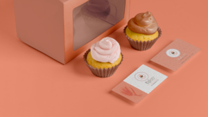 Pink Bakery Business Card