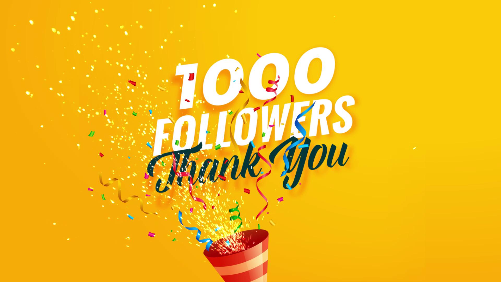 10K Follower celebration particles