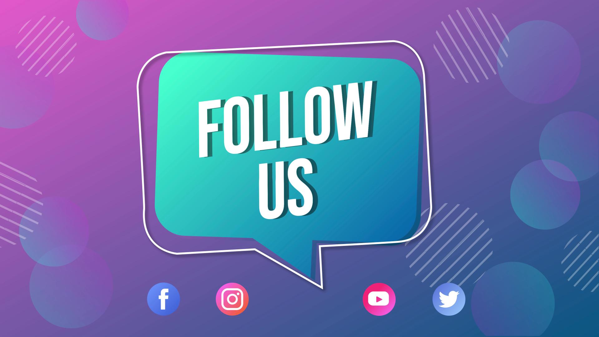 Follow Us Animation