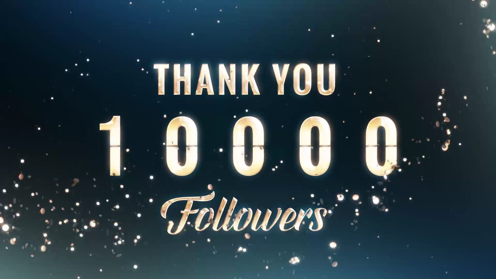 Particles Motion Graphics 10000 followers