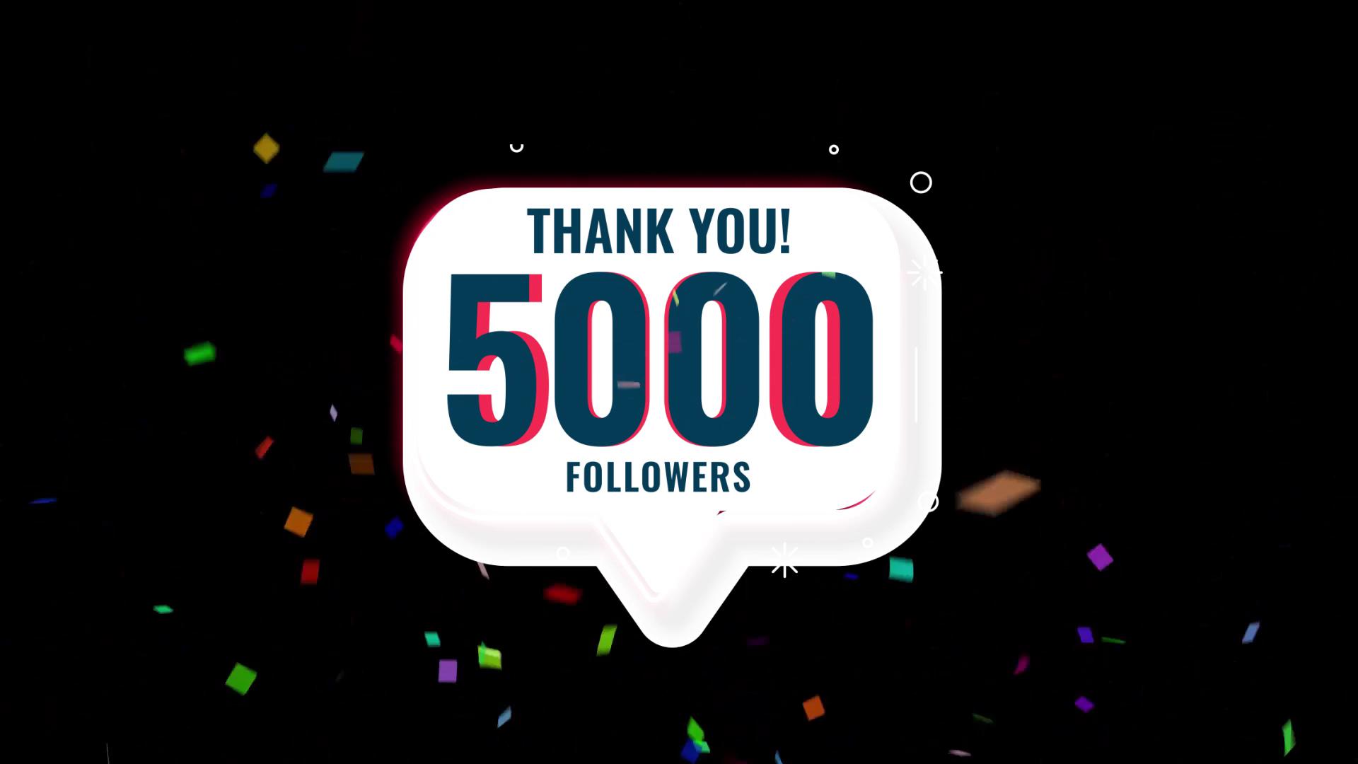 Celebration 50000 Followers
