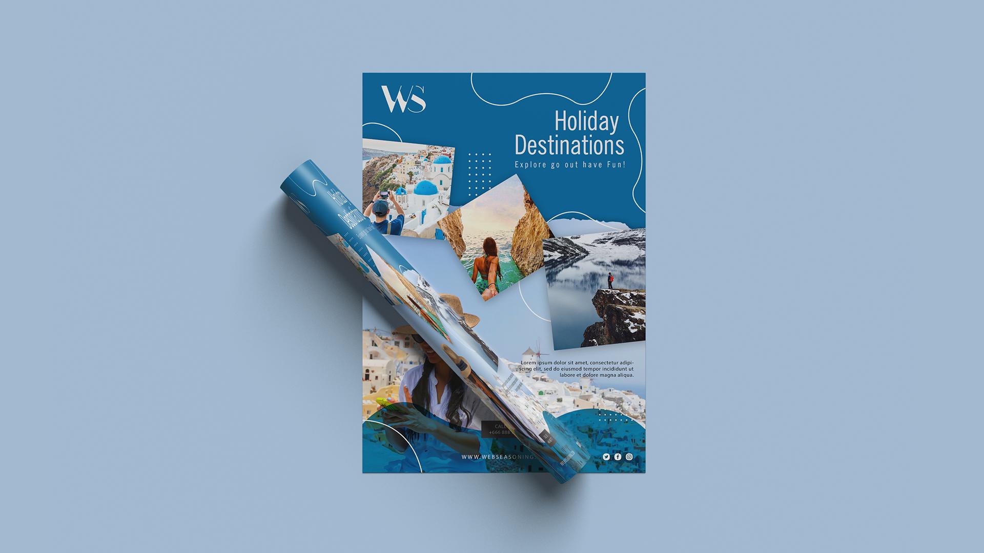 Travel & Tour Agency Flyer