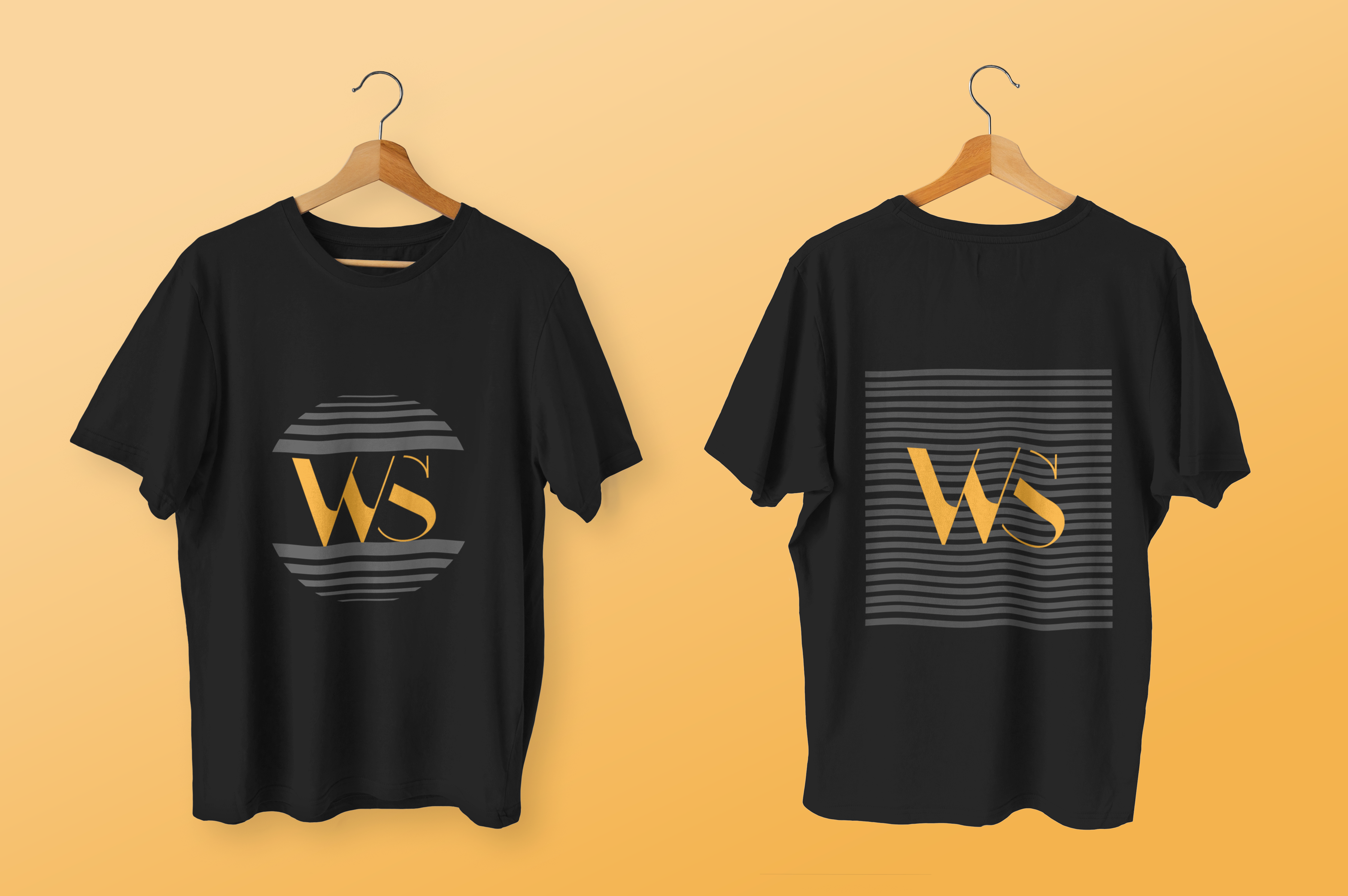 Black_T_Shirts_Front_and_Back_View_Mockup