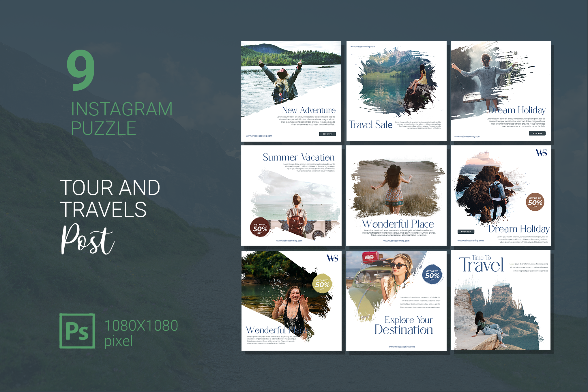 Tour and Travels Instagram Puzzle