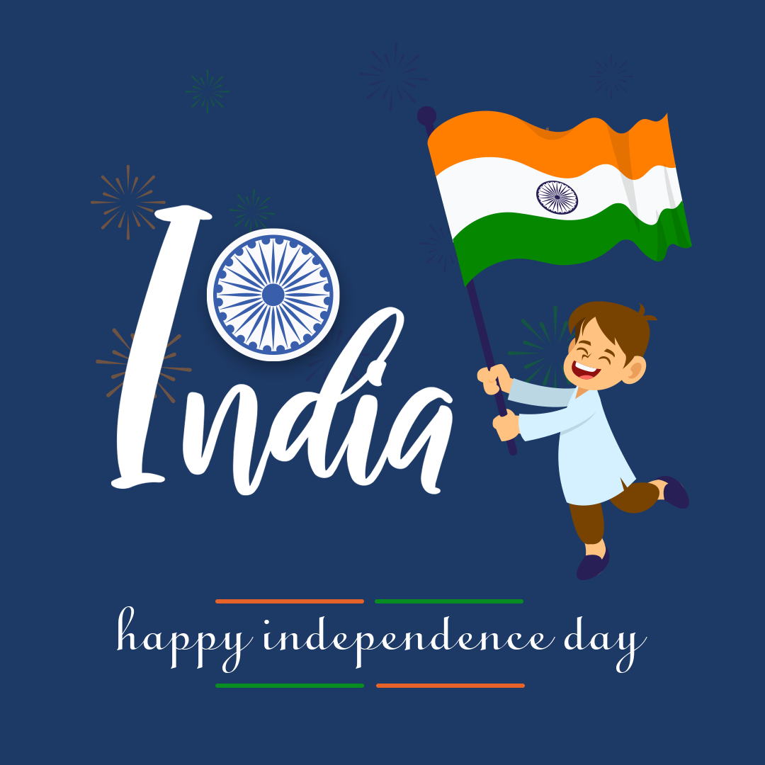 Creative indian independence day Instagram Post