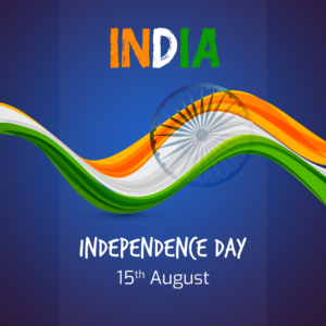 Independence day square flyer design Free Psd
