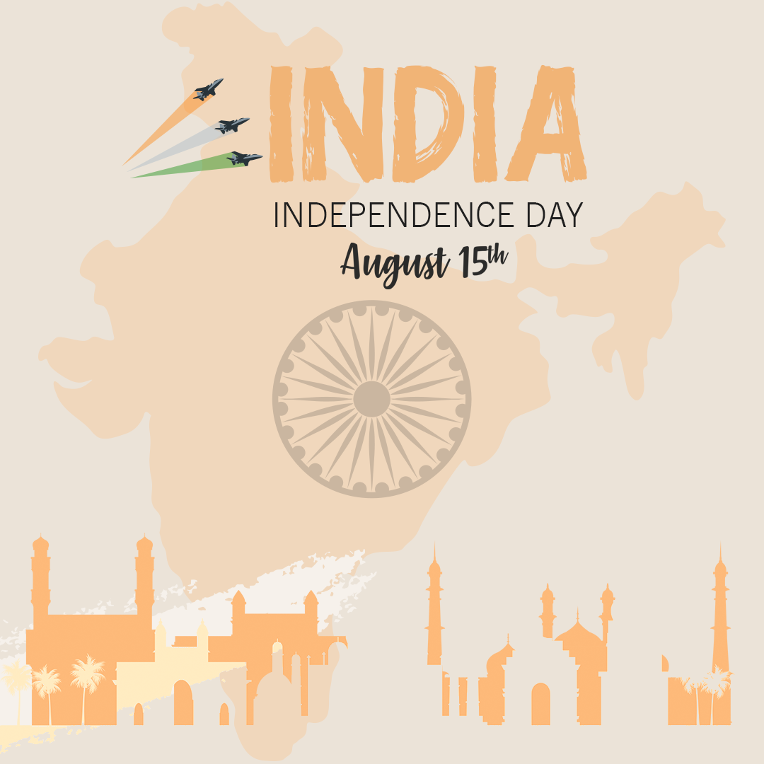 Indian happy independence day celebration Post