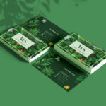 Palm Tree Custom Business Card Template