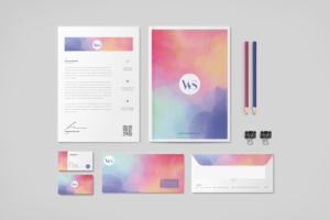 Watercolor Cackground Texture Stationery Graphic Templates