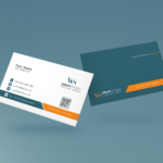 Clean style modern business card template