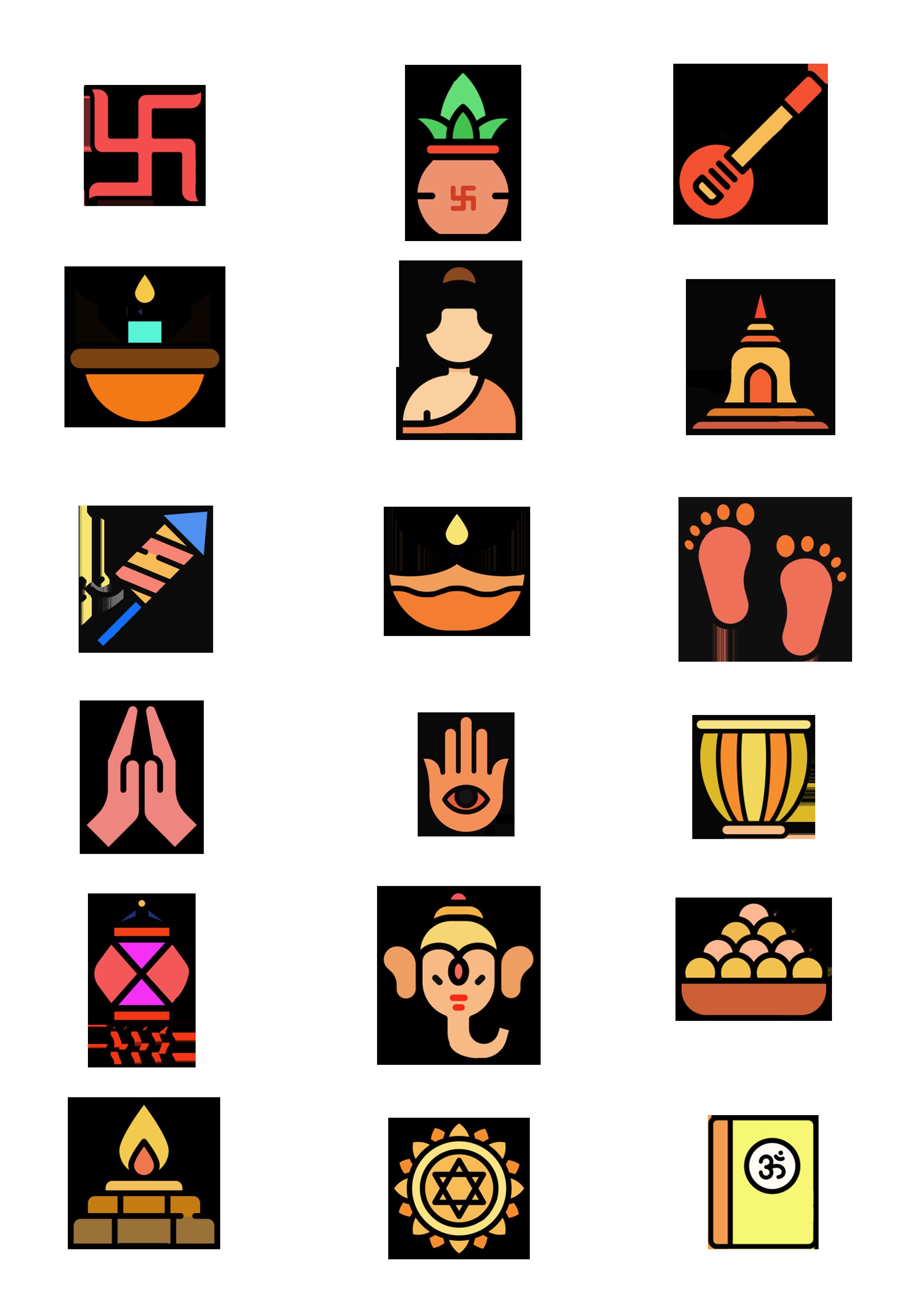 diwali icon vector free download